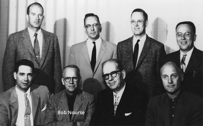Vistage group in 1957